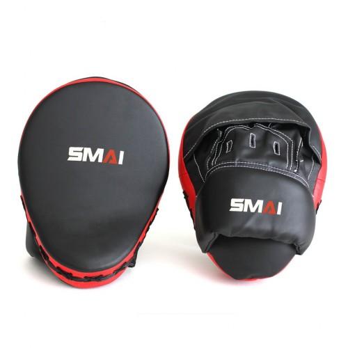 Лапа SMAI Foсus Mitt (черная/красная)