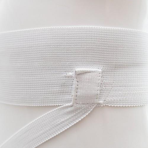 Защита паха для мужчин Smai с лицензией WKF (белая)