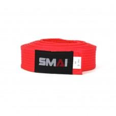 Пояс для кимоно SMAI (красный)