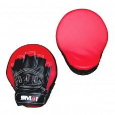 Лапы тренировочные SMAI Focus MIitts ( PT-029, красные)