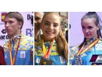 Юные украинские каратисты завоевали три медали на соревнованиях в Испании среди юниоров