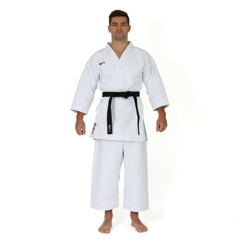 "Кимоно для каратэ Smai ""Ultimate Gi"" 14 OZ с лицензией WKF (белое)"