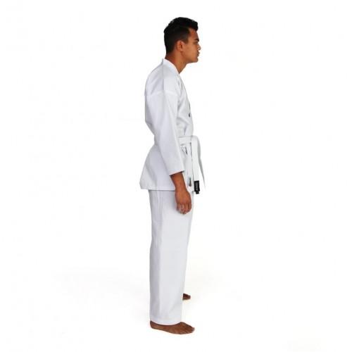 """Кимоно для каратэ Smai """"ECONOMY GI"""" с лицензией WKF (белое)"""