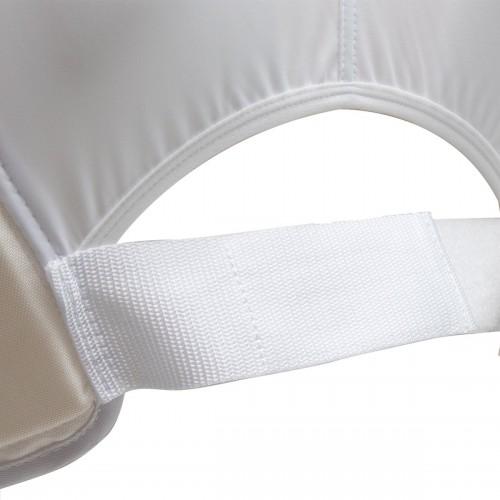 Защита туловища Smai с лицензией WKF (белая)