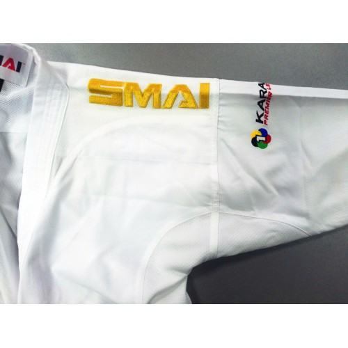 SMAI JIN KUMITE GI WKF APPROVED Золотая вышивка SMAI на плечах- SMAI